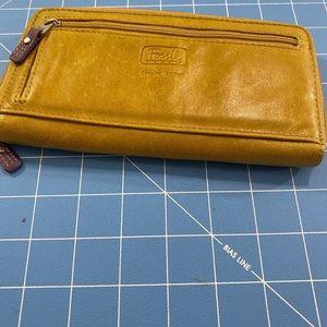 Fossil  Vintage Leather Wallet.